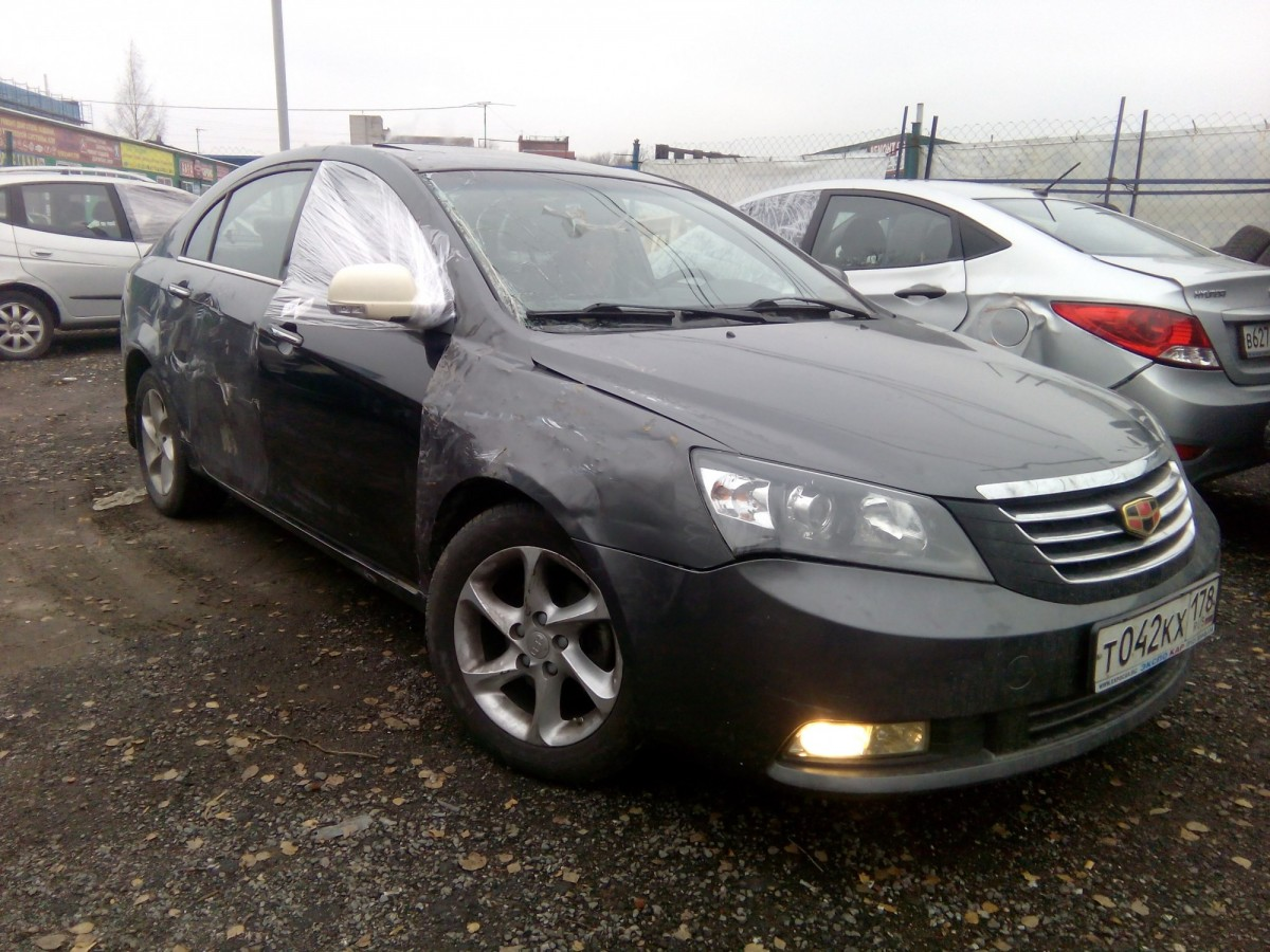 Geely Emgrand 2014 год
