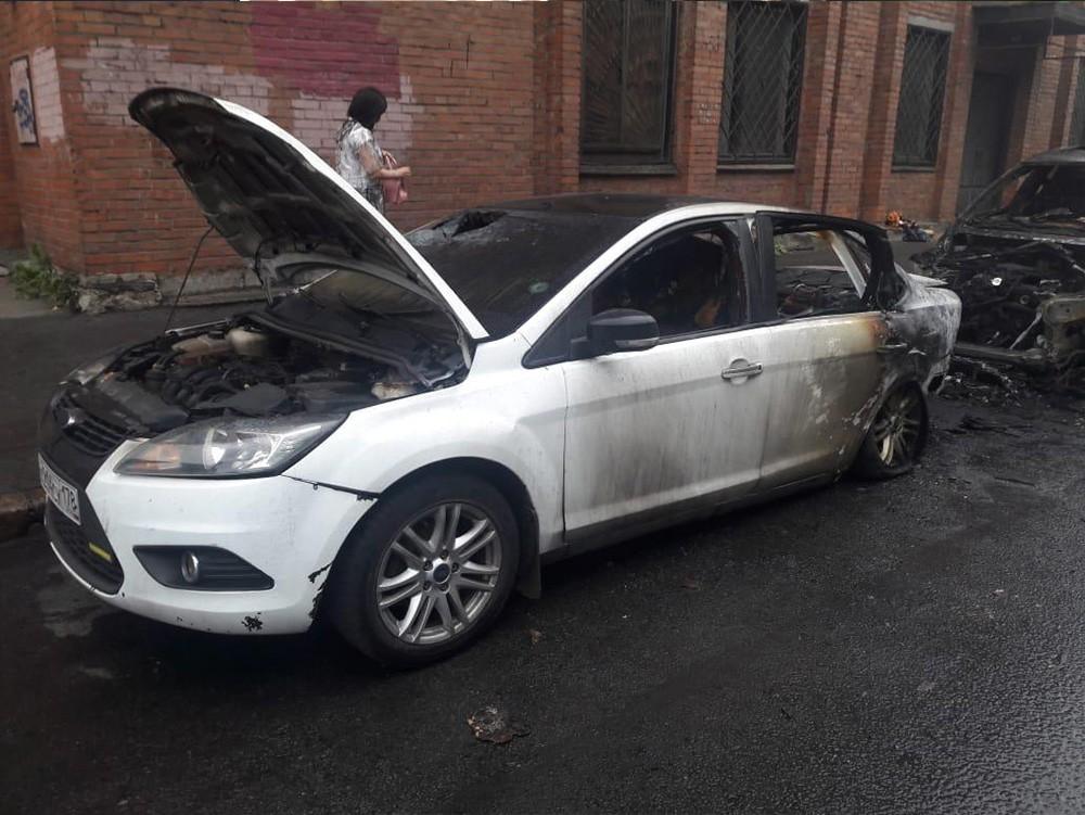 Выкуп сгоревших авто в СПб - Форд Фокус